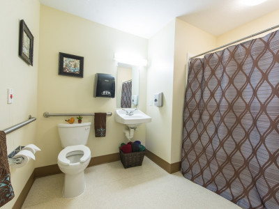 Private Bathroom & Shower